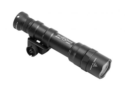 Surefire M600DF Scout Light 6V Dual Fuel 1500 Lumen Flashlight, Black - M600DF-BK
