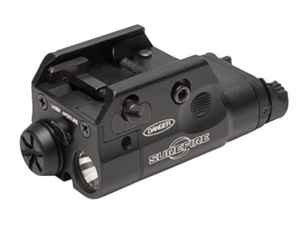 Surefire XC2 Ultra Compact LED Handgun Light & Laser Sight - XC2-A