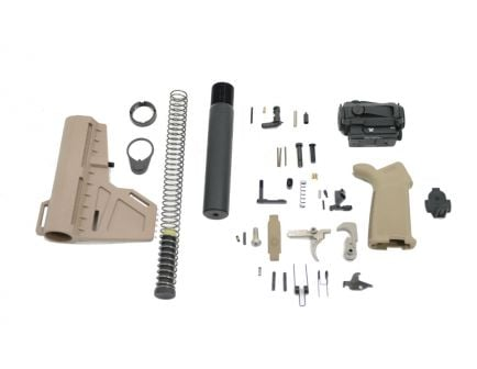 AR-15 Lower Build Kit with Vortex SPARC Red Dot