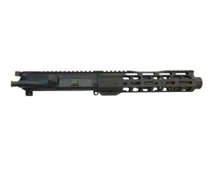 "Sideview of PSA 7"" ar 15 barrel upper receiver made for 5.56 ammunition."