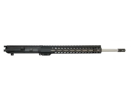 """PSA Gen2 PA10 20"""" Rifle Length .308 WIN 1/10 Stainless Steel 15"""" M-lok Upper with BCG and CH - 5165447981"""