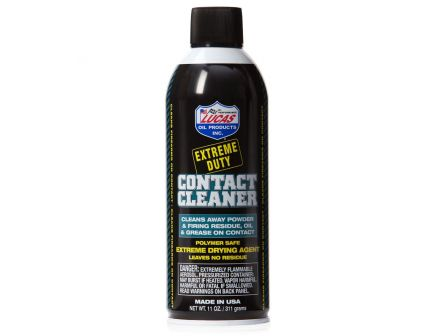 Lucas Oil Extreme Duty Contact Cleaner Aerosol - 11 oz - 10905
