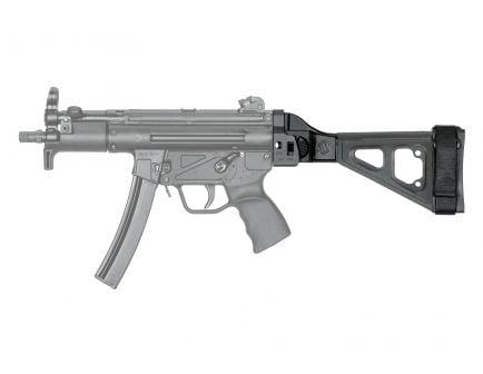 SB Tactical SBT5KA Side Folding Brace, Black, Fits MP5K, SP5K