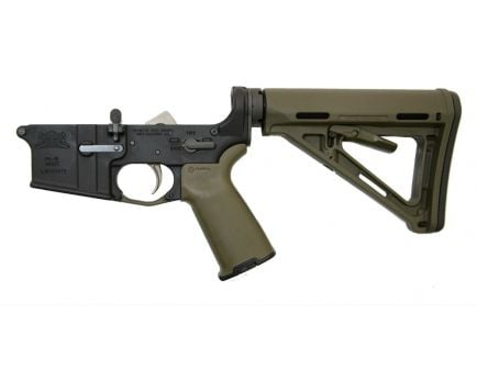 OD Green MOE+ AR 15 complete lower receiver