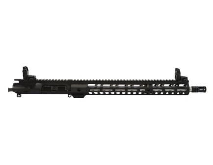 """PSA 16"""" Mid-length 5.56 NATO 1:7 Stainless Steel 15"""" Lightweight  M-lok Upper With MBUS Sight Set - No BCG or CH - 5165448124"""