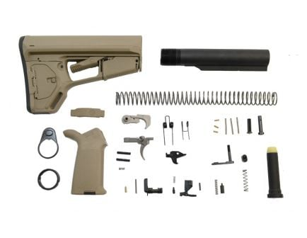 Magpul ACS-l AR-15 Lower Build Kit in Flat Dark Earth