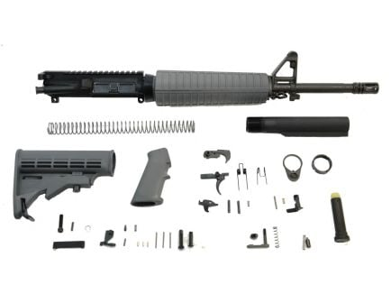"PSA 16"" Mid-Length 5.56 NATO 1/7 Phosphate Classic Rifle Kit, Gray"