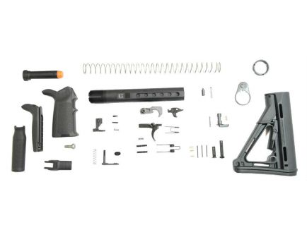 PSA PA10 MIAD CTR EPT Lower Build Kit, Black
