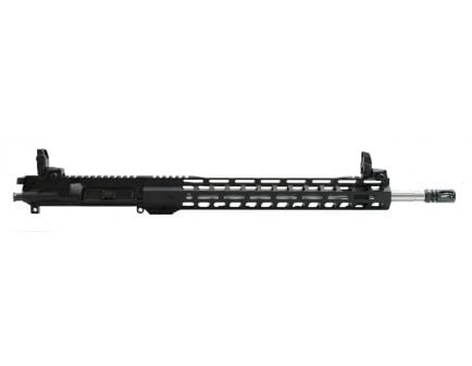"PSA 18"" Rifle-Length .223 Wylde 1/7 Stainless Steel 15"" Lightweight M-Lok Upper With MBUS Sight Set & NiB BCG"