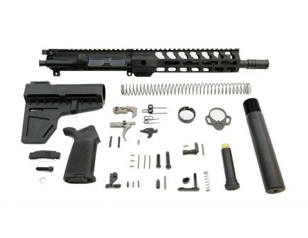 """PSA 10.5"""" Carbine-Length 5.56 NATO 1/7 Nitride 9"""" Lightweight M-Lok MOE EPT Shockwave Pistol Kit"""