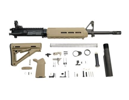 "PSA 16"" Nitride magpul kits for ar 15 with moe grip, stock, and handguard."