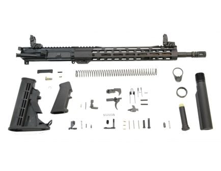 "16"" AR 15 Complete Kit with rail system"