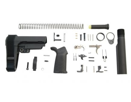 psa sba4 moe ept pistol lower build kit black