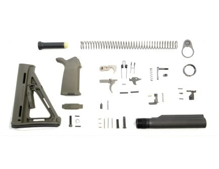 PSA MOE AR-15 lower build kit in olive drab green
