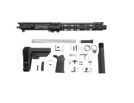 "PSA 10.5"" Carbine-Length 5.56 NATO 1/7 Nitride 12"" Slant M-Lok MOE EPT SBA3 Pistol Kit - 5165448807"