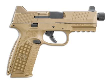 "FN 509 Tactical 9mm 4.5"" Pistol, Flat Dark Earth - 66-100383"