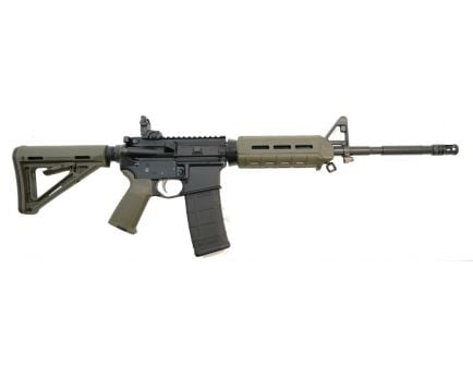 "PSA PA-15 16"" Nitride M4 Carbine 5.56 NATO MOE AR-15 Rifle, OD Green"