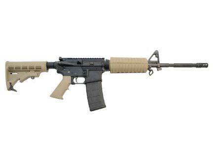 """PSA PA-15 16"""" Nitride M4 Carbine 5.56 NATO Classic AR-15 Rifle, FDE"""