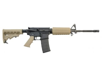 "PSA PA-15 16"" M4 Phosphate 5.56 NATO 1/7 Classic Rifle, Flat Dark Earth"