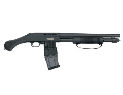 """Mossberg 590M Shockwave 12ga 2.75"""" Mag-Fed Pump Action Shotgun - 50208"""