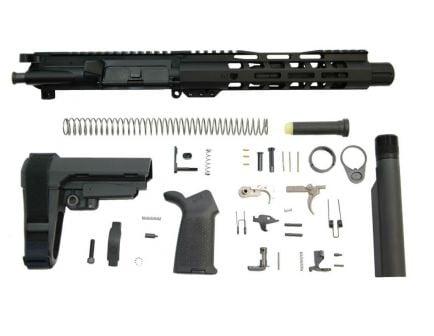 "7.5"" MOE SBA3 AR 15 300 blackout pistol kit"