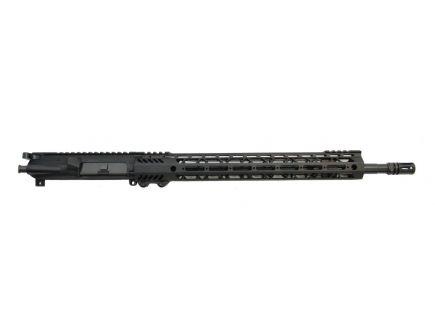 "psa 18"" rifle length 223 wylde 1/7 nitride 15"" m lok upper with bcg & ch"