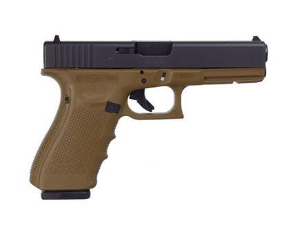 "Glock 21 Gen 4 .45 ACP 4.6"" 13 Round Pistol, Flat Dark Earth - PG2150203D"