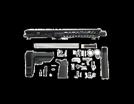 """PSA 10.5"""" CHF 5.56 NATO 1/7 12"""" Slant M-Lok MOE EPT SBA3 Pistol Kit"""