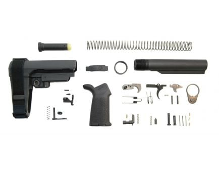 psa moe sba3 lower build kit in black