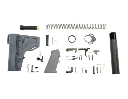 psa classic shockwave lower build kit in gray