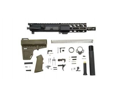 """PSA 7"""" Nitride 5.56 1/7 6"""" Lightweight M-Lok Classic Shockwave Pistol Kit, ODG - 5165448930"""