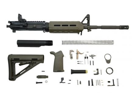 "Image of PSA 16"" magpul ar 15 kit with moe furniture."