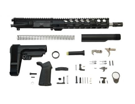 "12"" lightweight railed ar-15 pistol kit"