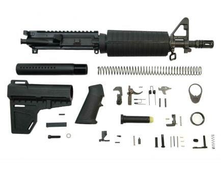 """PSA 10.5"""" CHF 5.56 NATO 1/7 Classic Shockwave Pistol Kit, Black"""