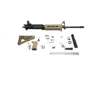 "PSA 16"" Carbine-Length M4 5.56 NATO 1/7 Phosphate MOE EPT Rifle Kit w/ Rear MBUS, FDE"