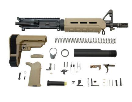 "PSA 10.5"" 5.56 NATO 1:7 Phosphate MOE SBA3 Pistol Kit, Flat Dark Earth - 5165449174"