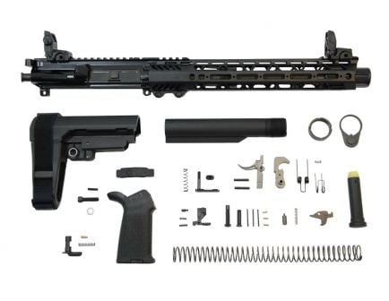 "10.5"" SBA3 carbine ar 15 pistol kit"