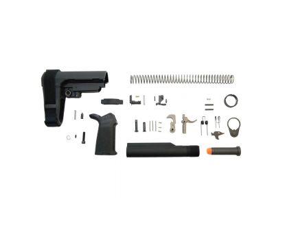 PSA 9mm SBA3 MOE EPT Pistol Lower Build Kit, Black