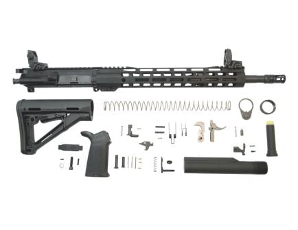 Mid-length nitride ar 15 rifle building kit