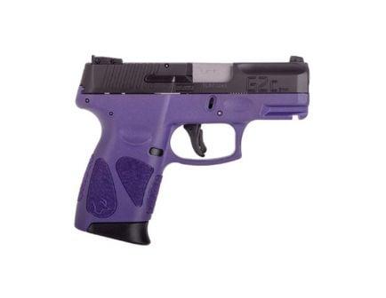 Taurus G2C 9mm Dark Purple and Black Pistol - 1-G2C931-12DP