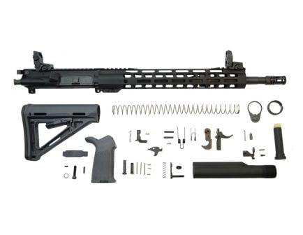 Railed rifle ar 15 rifle kit