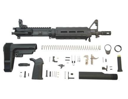 """PSA 10.5"""" Carbine-Length 5.56 NATO 1/7 Phosphate MOE EPT SBA3 Pistol Kit w/MBUS Rear"""