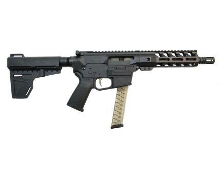 "PSA 8"" 9mm 1:10 7"" Lightweight M-Lok MOE EPT Shockwave Pistol, Black - 5165449595"