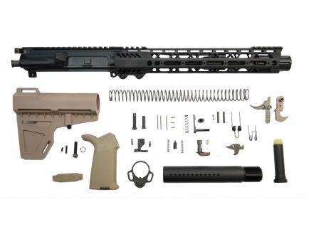 "10.5"" shockwave flat dark earth AR 15 pistol kit"