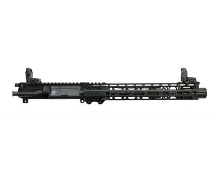 "PSA 10.5"" Carbine-Length 5.56 NATO 1/7 Nitride 12"" Slant M-lok Upper - With BCG, CH, & MBUS Sight Set - 5165449684"