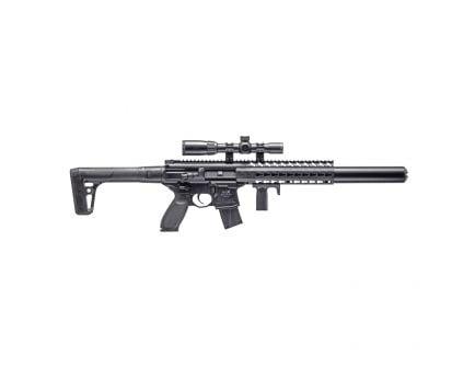 Sig Sauer SIG MCX ASP .177 Semi-Automatic Air Rifle w/ Scope, Black - AIR-MCX-SCOPE-177-88G-30-BLK