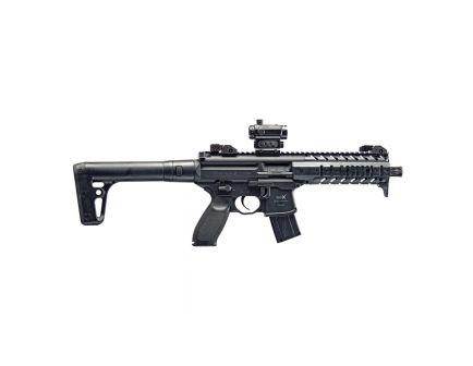 Sig Sauer SIG MPX ASP .177 Semi-Automatic Air Rifle w/ Red Dot Optics, Black - AIR-MPX-MRD-177-88G-30-BLK