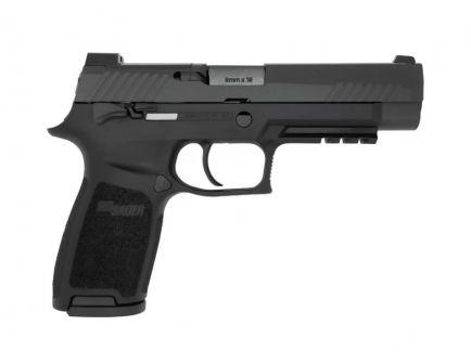 SIG Sauer P320-M17 Bravo 9mm Pistol, Black - 320F-9-M17-MS-BRAVO