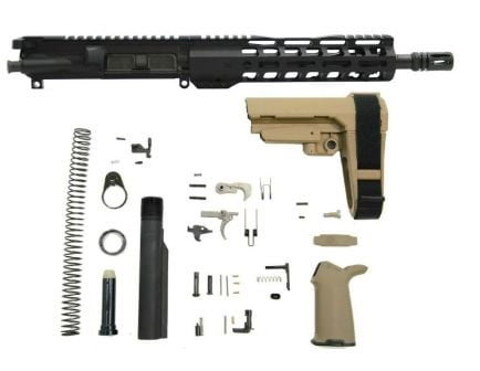 "10.5"" SBA3 flat dark earth AR pistol kit"