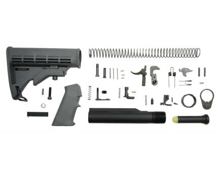 Classic Gray AR-15 lower build kit